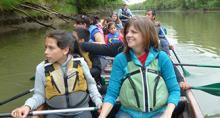 Community paddle Gilbert River Sauvie Island